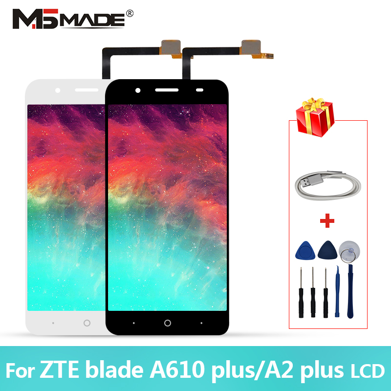"""5.5"""" For ZTE Blade A610 plus A2 plus BV0730 Display Touch LCD Screen Digitizer AAA Quality Replacement Parts Free Shipping