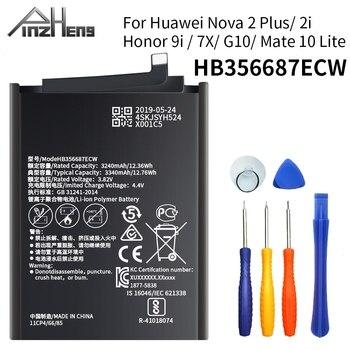 PINZHENG batería para Huawei Nova 2 Plus Nova 2i Honor 9i Huawei G10 Mate 10 Lite HB356687ECW para Huawei Honor 7X reemplazar la batería