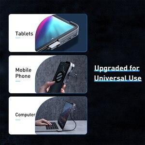 Image 5 - Baseus USB C HUB to USB 3.0 HDMI USB HUB for iPad Pro Type C HUB for MacBook Pro Docking Station Multi 6 USB Ports Type C HUB