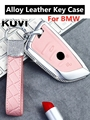 Кожаный чехол для ключей BMW 525li F15 F16 F48 F85 G30 G11 M 2018 X1 X3 X4 X5 X6 35i 50i