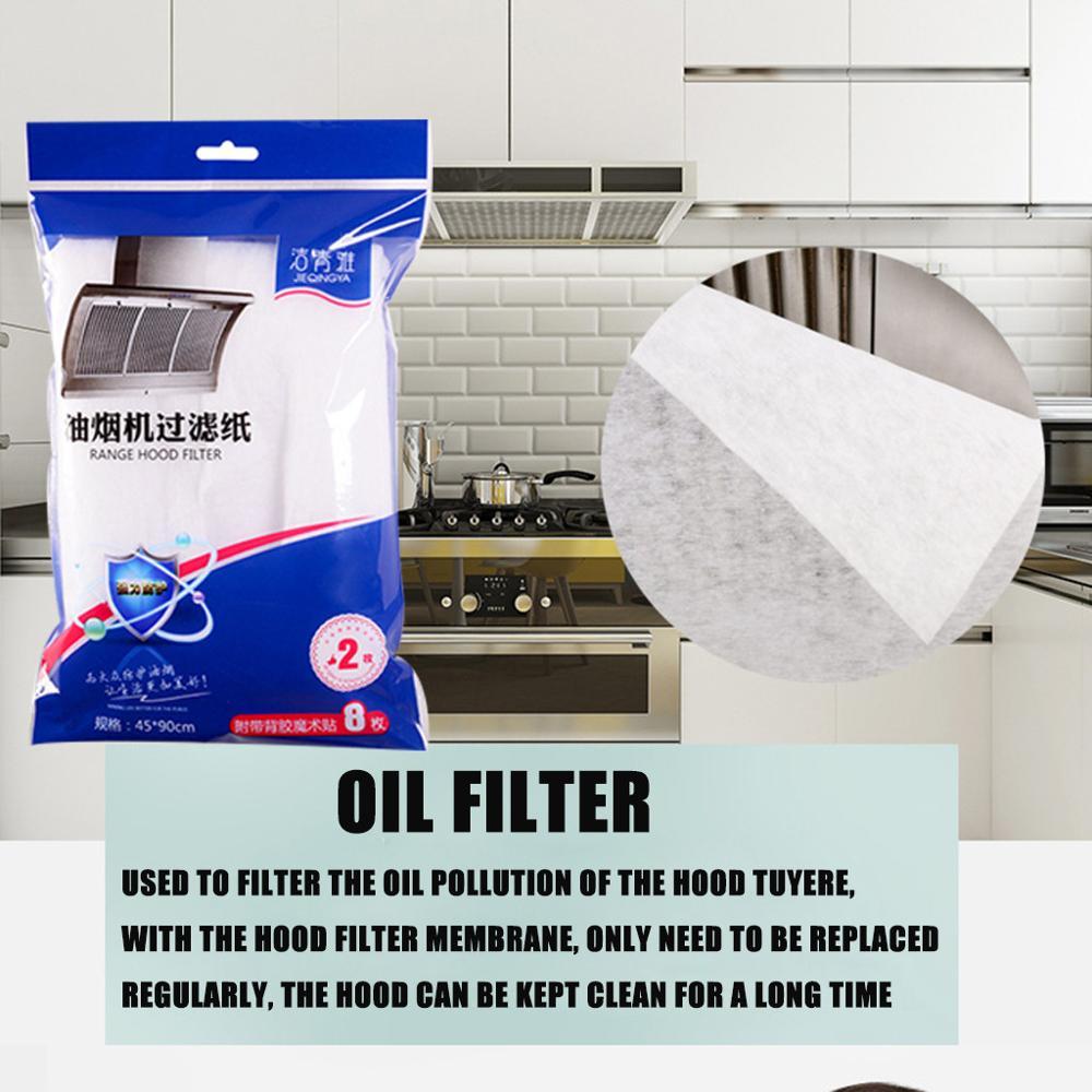 Kitchen Fume-Proof Stickers Range Hood Oil-Absorbing Paper Filter Oil-Proof Film   Kitchen Fume-Proof Stickers   W@