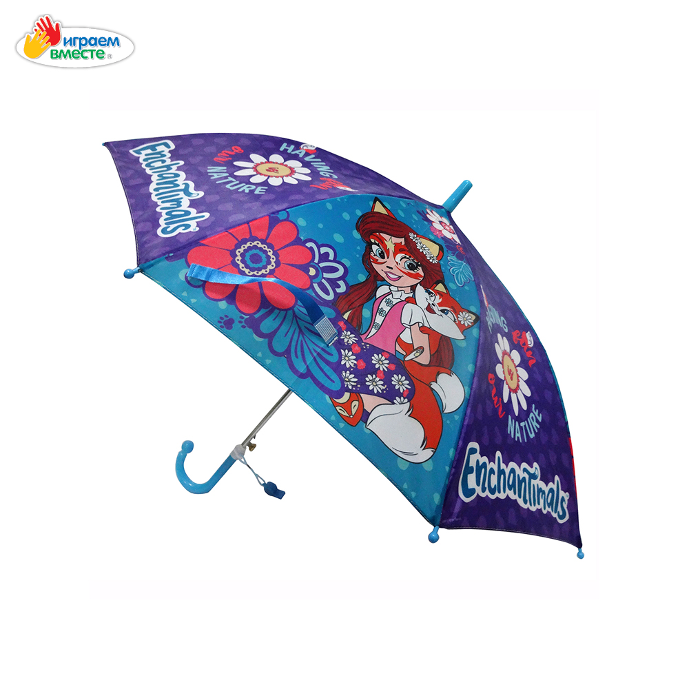 Umbrellas IGRAEM VMESTE 268892 children's umbrella bright drawing for a child for a girl