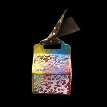 Hollow Metal flower Cutting Dies  3D candy box dies Stencils For DIY Scrapbooking Craft Die Cuts Paper Cards Template