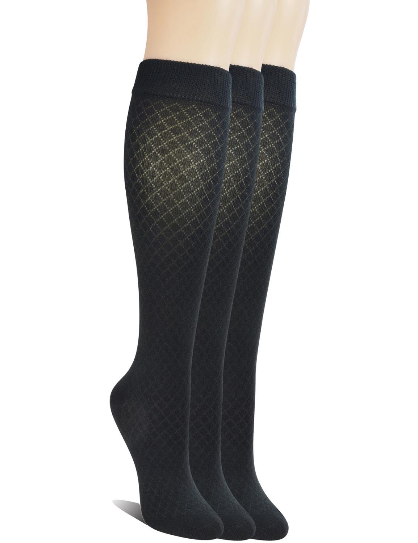 Женские Бесшовные бамбуковые Гольфы Yomandamor, дышащие сетчатые носки, 3 пары