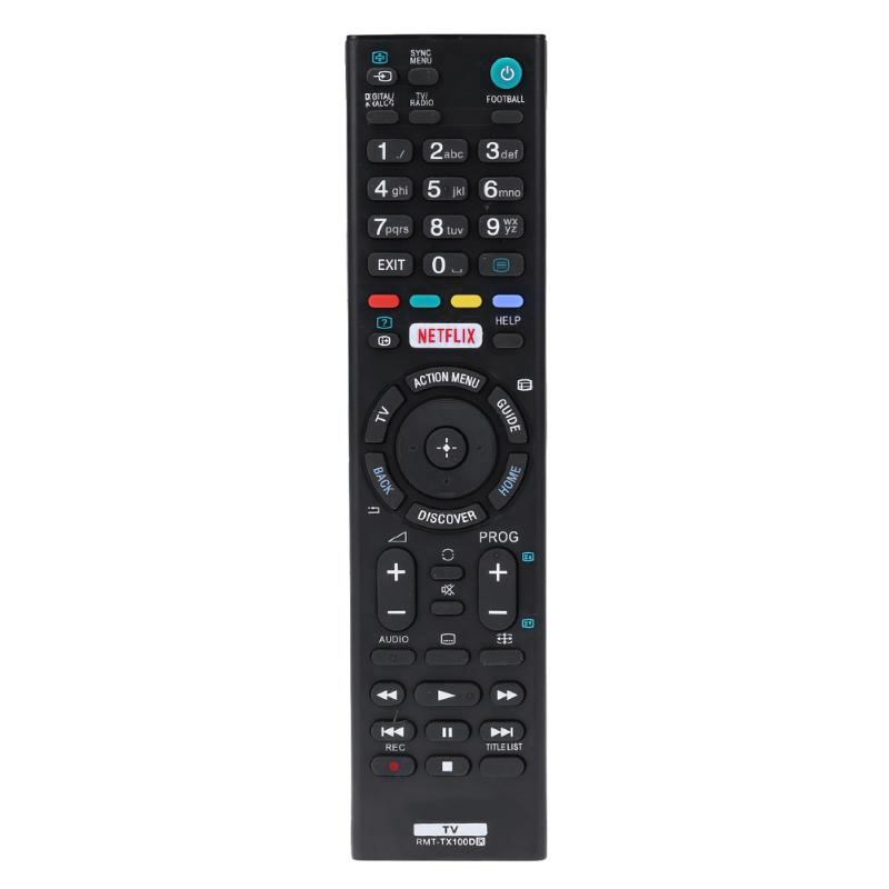Remote Control Replacement For Sony Rmt-Tx100D Rmt-Tx101J Tx102U Tx102D Tx101D Tx100E Tx101E