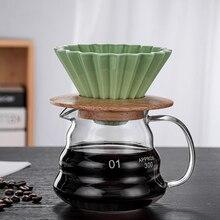 Cold-Brew-Coffee-Maker COFFEE-FILTER-CUP V60 Ceramic Cloud-Pot Multi-Color