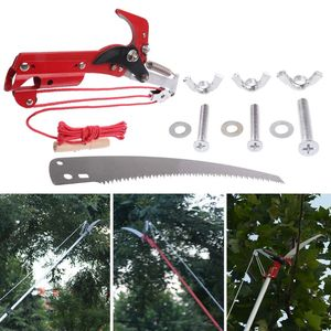 Image 5 - High altitude Extension Lopper Branch Scissors Extendable Fruit Tree Pruning Saw Cutter Garden Trimmer Tool