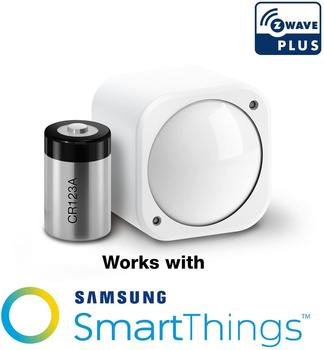 Z-Wave Plus 6-in-1 모션 온도 습도 라이트 UV 진동 센서 Multisensor 6 With Battery Compatiable Home Assistant