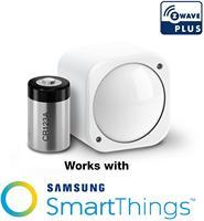 Sensor de humedad y temperatura de movimiento z-wave Plus 6 en 1, Sensor de vibración UV, Multisensor 6 con batería compatible con asistente de hogar