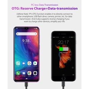 """Image 2 - Ulefone Nota 7P Del Telefono Mobile Android 9.0 Cellulare 6.1 """"MT6761VW Quad Core 3GB + 32GB Viso ID 3500mAh Smartphone 3 Posteriore Telecamere"""