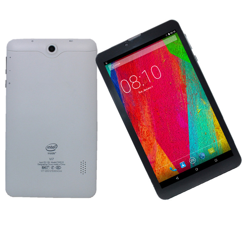 3G  Phone Call  Tablet PC Quad-Core 7 Inch Vi7  Wifi GPS Android 5.1 Sim Card MTK832 1GB+ 8GB 1024*600 IPS Dual cameras