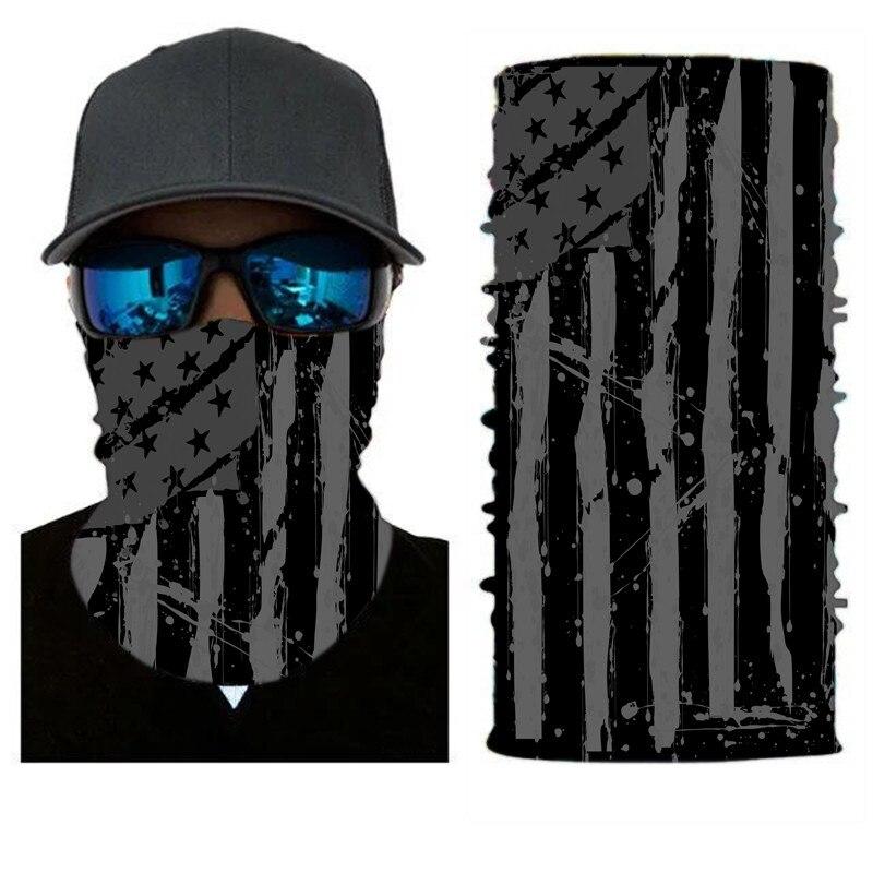 Армейская цифровая рыболовная Бандана с изображением масок для лица из полиэстера ветрозащитная Зимняя Маска для головы и шеи для лица одежда для рыбалки