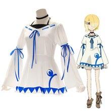 Anime Demon Lord Retry! Cosplay Costumes Aku Cosplay Costume Dresses Halloween Party Maou Sama Retry! Women Cosplay Costume