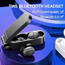 Écouteurs stéréo binauraux de Sport de Bluetooth de contrôle de bouton découteur portatif léger superbe de Bluetooth avec la boîte de charge de micro