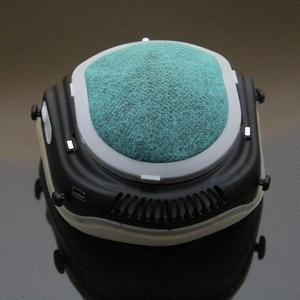 Image 5 - Q5S 전기 안티 헤이즈 살균 마스크 호흡기 PM2.5 호흡 필터 재사용 가능한 입 커버 전기 마스크 공급 공기
