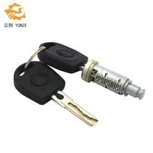 1 قطعة برميل قفل مع 2 مفاتيح صالح لل VW GOLF 4 IV MK4 A6 سكودا فابيا بولو 9N مقعد باسات للجانب الأيسر الأيمن