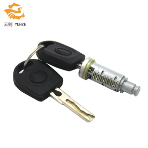 Image 1 - 1PC LOCK BARREL WITH 2 KEYS FIT FOR VW GOLF 4 IV MK4 A6 SKODA FABIA POLO 9N SEAT PASSAT FOR LEFT RIGHT SIDE