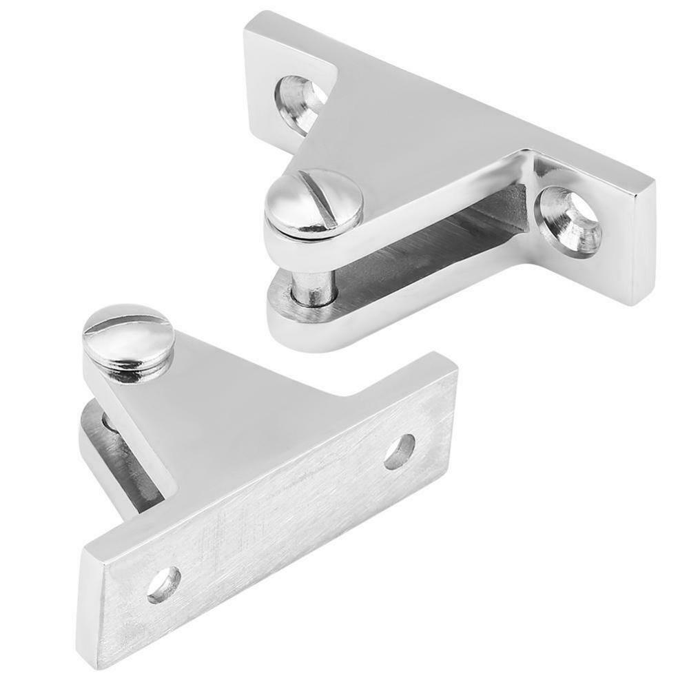 2pcs Stainless Steel Deck Hinge <font><b>Boat</b></font> <font><b>Bimini</b></font> <font><b>Top</b></font> Fitting 90 Degree ISURE MARINE image