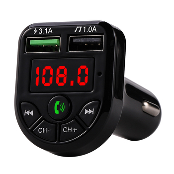car charger Bluetooth Car FM Transmitter MP3 Player Hands free Radio Adapter Kit USB Charger Battery Charger Unit phone charger image