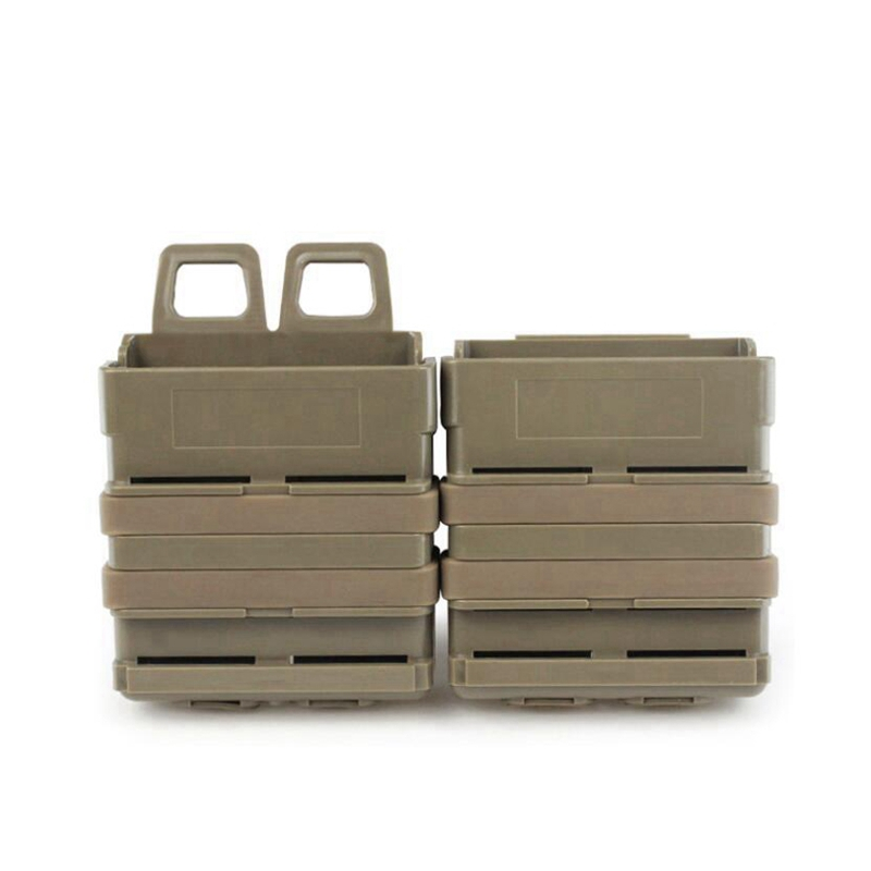 7.62mm Double Clip Tactical Double Magazine Pouch For Paintball Quick Pull Box Molle Box Pouch