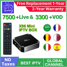 Android Box World IPTV iptv suscripción Europa iptv portugal españa francia italia EE. UU. Holandés Iptv m3u para Smart TV(China)