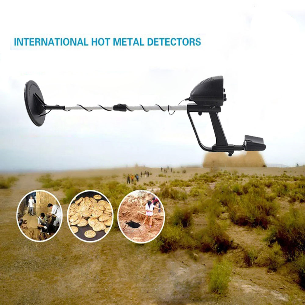 Metal-Detector Hunter Gold MD-4030 Digger Light-Type Search Deep-Hypersensitivity Waterproof