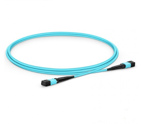 3m 12 Cores MPO Fiber Patch Cable OM3 UPC Jumper Female To Female 24 Cores Patch Cord Multimode Trunk Cable,Type A Type B Type C
