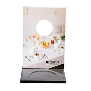 Image 3 - Retekess TD024 5pcs Mechanical Desktop Card For Call Button Restaurant Pager Customer Service Wireless Caller Waiter Call Button
