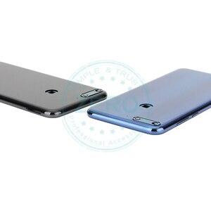 Image 5 - Original pour Huawei Y7 Prime 2018 couvercle de batterie arrière boîtier arrière pour Huawei Nova 2 Lite batterie porte pièces de rechange