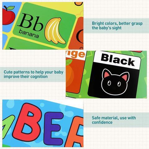 10 pcs cartazes educacionais aprendizagem engracada criativo