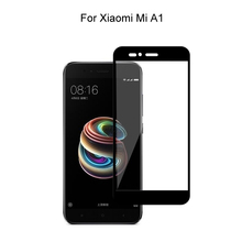 Tempered Glass For Xiaomi Mi A1 / Mi 5X Full Cover 2.5D Screen Protector Protective Tempered Glass For Xiaomi Mi A1 Mi 5X аксессуар защитное стекло для xiaomi mi a1 mi 5x neypo full screen glass gold frame nfg3330