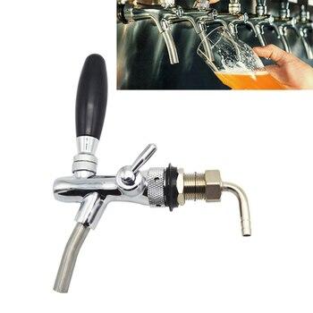 Grifo ajustable de acero inoxidable para cerveza, barra dispensadora de bebidas, barril de vino y cerveza, accesorios