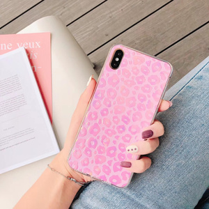 Image 3 - 60 pcs/lot Fille Paillettes Couverture Arrière Souple pour iphone XS MAX X XR 11Pro 7 8 Plus changement couleur Mignon Bling TPU, MYL PFB9