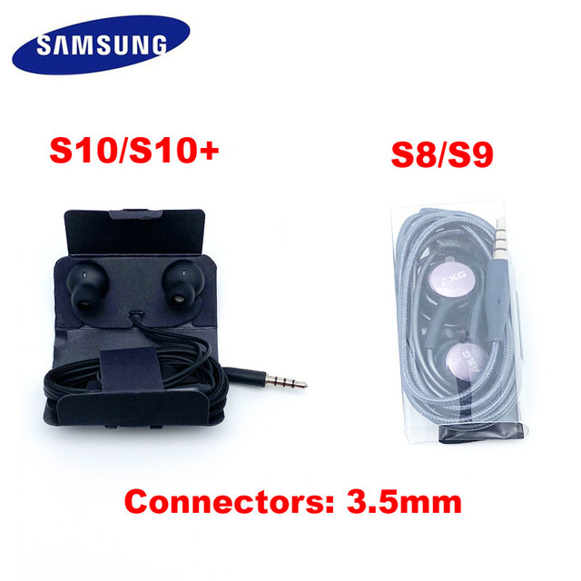 Samsung AKG Earphones EO IG955 3.5mm In-ear Wired Mic Volume Control Headset for Galaxy S10 S9 S8 S7 S6 huawei xiaomi Smartphone 6