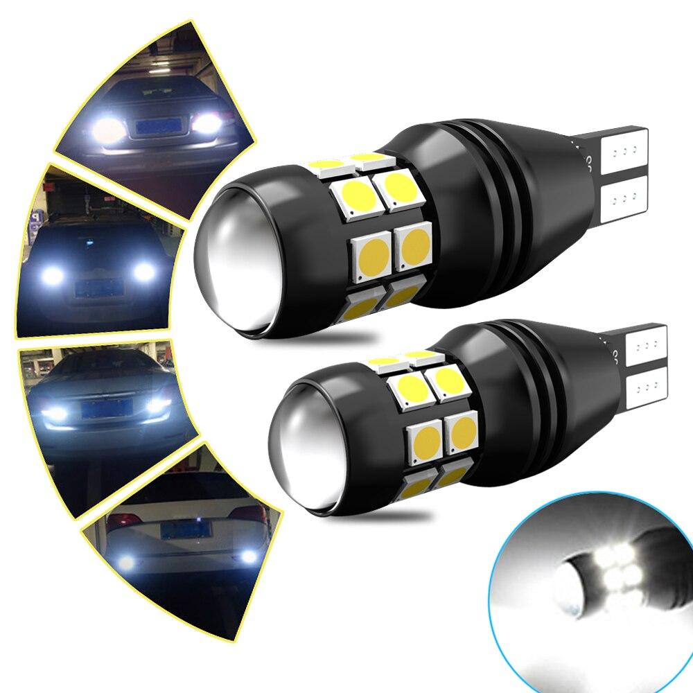 2x Led T15 W16W 921 912 Canbus Bulb Error Free LED Backup Reverse Light for Audi A3 A4 B8 B6 8P RS5 A6 C5 C6 C7 A7 A8 Q5 6000K