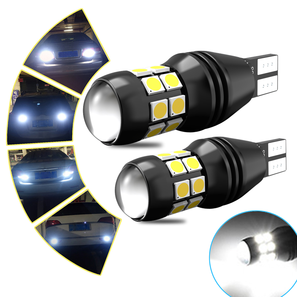 2x Đèn Led T15 W16W 921 912 Xi Nhan Canbus Bóng Đèn Lỗi Giá Rẻ LED Hỗ Đèn  Cho Xe Audi A3 A4 B8 B6 8P RS5 A6 C5 C6 C7 A7