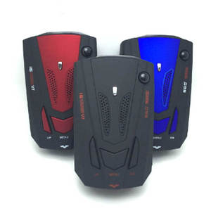 Car-Radar-Detector V7-Speed English Russia Cigarette-Lighter Non-Slip-Mat Voice-Alert-Alarm-System