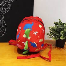 Cartoon Baby Safety Harness Backpack Toddler Anti-lost Bag Children Schoolbag Adjustable shoulder strapwith a lock bucke