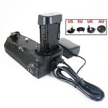 حامل بطارية قبضة عمودية لكانون EOS R كاميرا لعقد 2 قطعة LP E6 LP E6N استبدال BG E22 E6 E6N