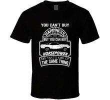 1969 Pontiac Firebird ne peut pas acheter le bonheur peut acheter des chevaux amoureux de voiture t-shirt