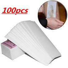 100pcs Removal Nonwoven Body Cloth Hair Remove Wax Paper Rol