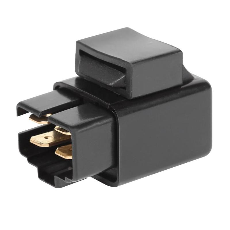Neutral Relay Solenoid Excellent Durable Plastics And Copper Black For Yamaha YFM 350 Raptor 2004-2013 With Ruggedness