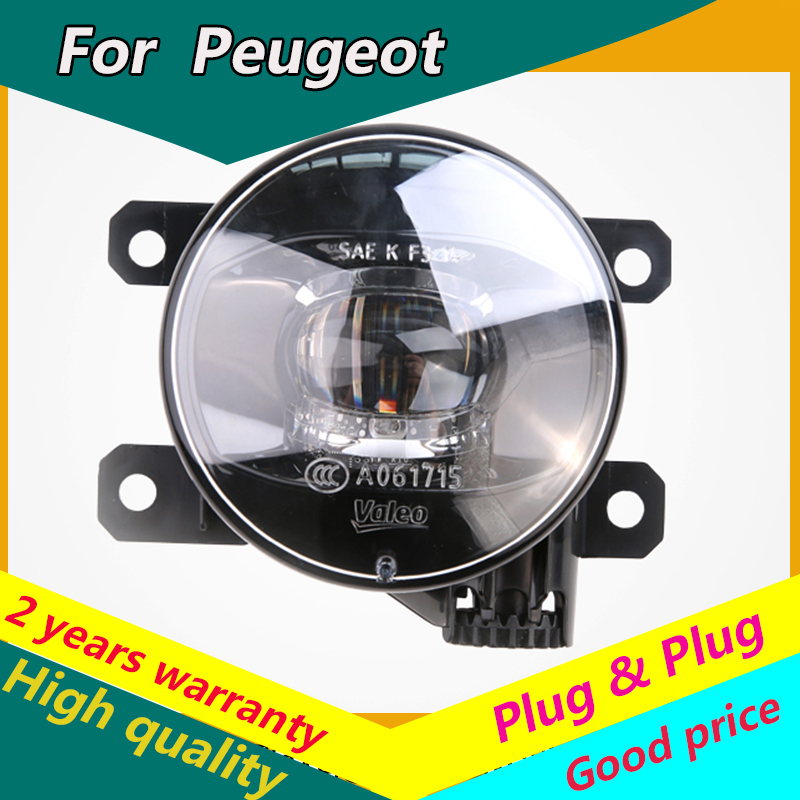KOWELL Car Styling Fog Lamp for <font><b>Peugeot</b></font> 206 207 <font><b>208</b></font> 2008 301 307 308 3008 408 508 LED Fog Light Auto Fog Lamp LED model image