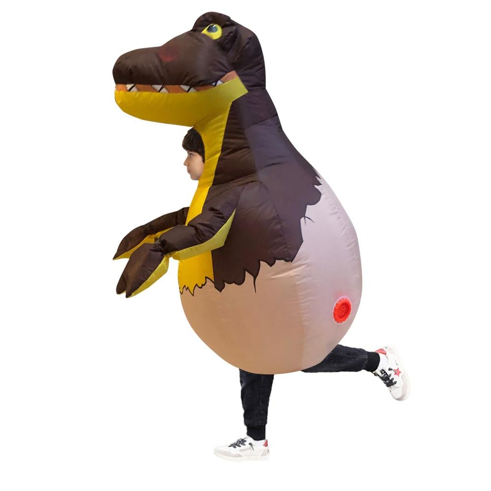 Unicorn and Dinosaur Birthday Party Dress Boy Child Inflatable Halloween Costume