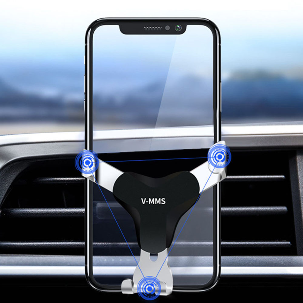 Car Phone Holder Mobile Accessories Support Telephone Voiture Mobile Accessories Product In Air Vent Mount Plastic Car Phone Hdr