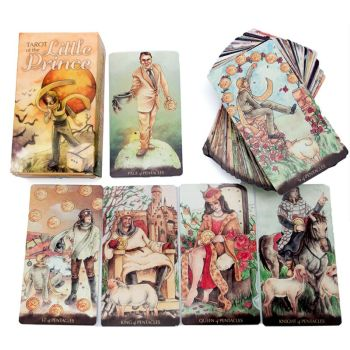 Tarot of the Little Prince Whimsical Loosely 78 Deck Cards Fate Divination Game 1