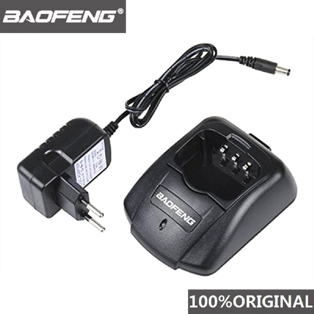 100% Original Baofeng UV-B5 UV-B6 Charger Two Way Radio 100V-240V Battery Charger For Pofung UVB5 UVB6 Walkie Talkie UV B5 UV B6