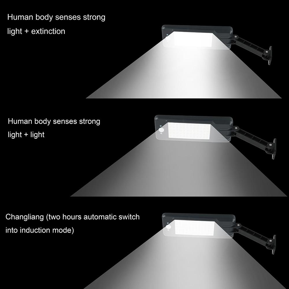 branco led solar lâmpada ao ar livre