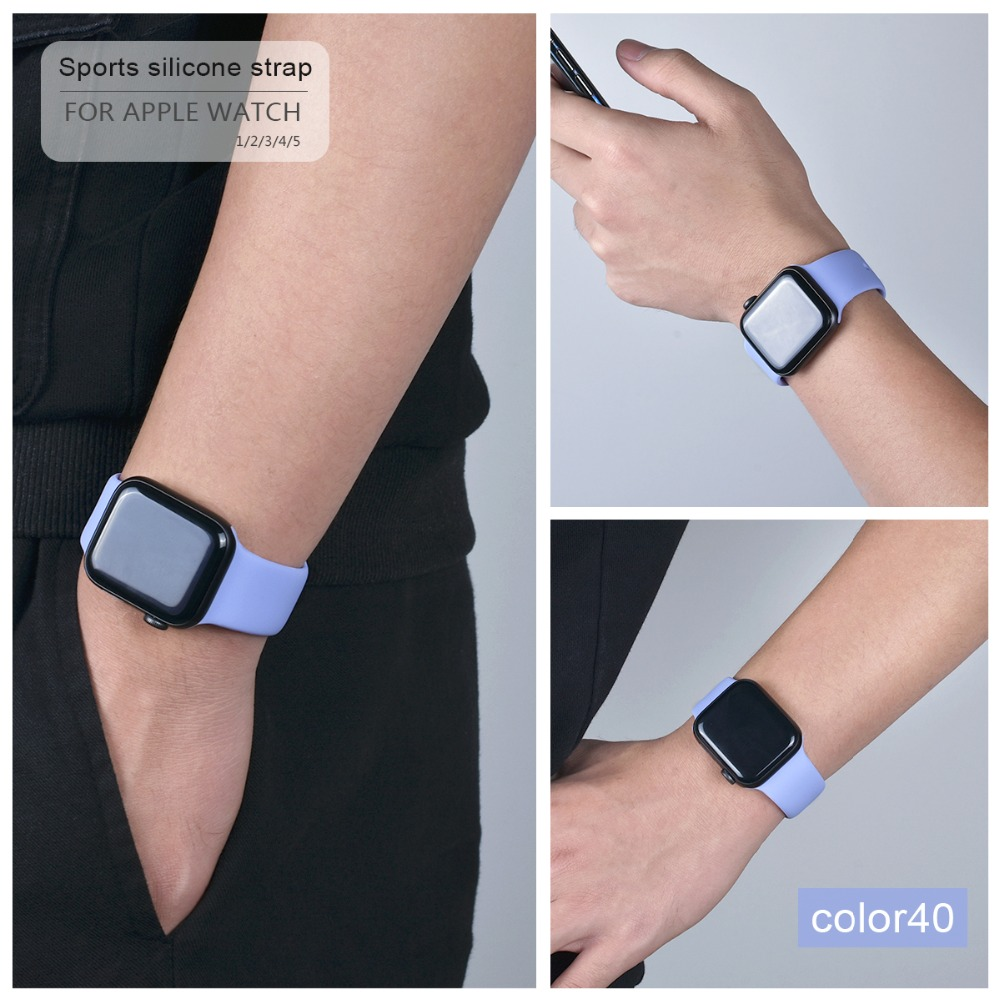 Soft Silicone Band for Apple Watch 101