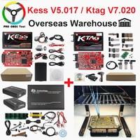 2019 Master Online EU Red Kess V2 V5.017 V2.47 Ktag Newest V2.25 No Tokens Limited ECU Chip Tuning Ktag V2.23 ECU Programmer